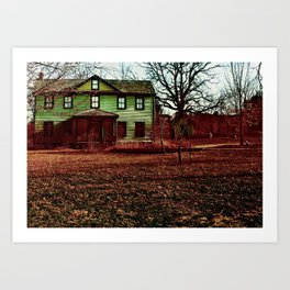 Dreaming House Art Print