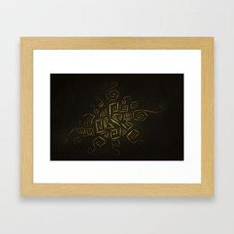 Rune One Framed Art Print