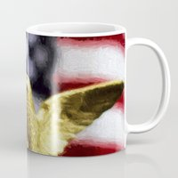 patriots Mugs featuring America by ThePhotoGuyDarren