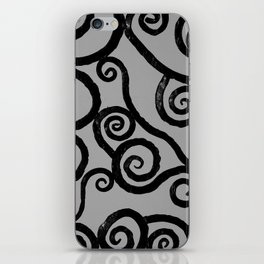 Spirals - pieces of Dublin iPhone Skin