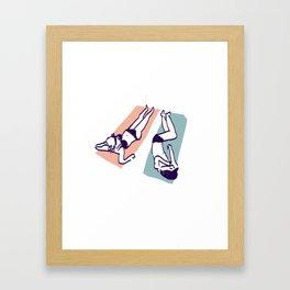 Rockaway Framed Art Print