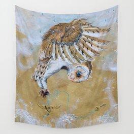 Free Spirit - Owl Wall Tapestry