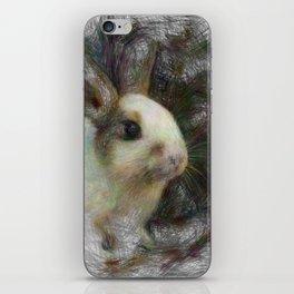 Artistic Animal Bunny 2 iPhone Skin