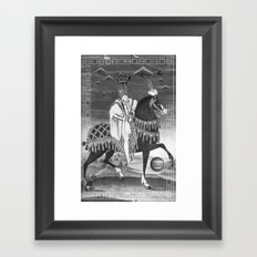 ASS royale Framed Art Print