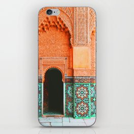 marrakech doorway iPhone Skin