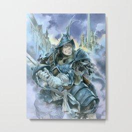 Steiner Metal Print