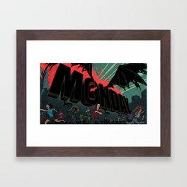 The Monday Framed Art Print