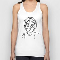 john snow Tank Tops featuring John by ersp