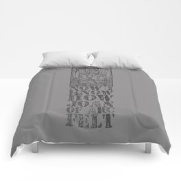 NOW I KNOW HOW JOAN OF ARC FELT - TRIBUTE TO THE SMITHS Comforters