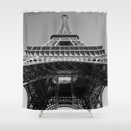 Eiffel Tower, Paris, France Shower Curtain