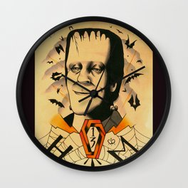 Herman Munster  Wall Clock