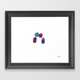 I'm sorry. I don't Actually Speak Your Language. I just  Framed Art Print