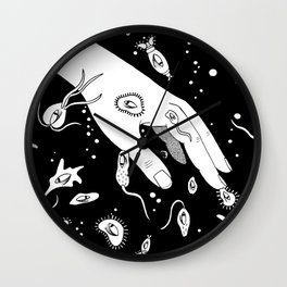 Fill the bucket, fill the bucket Wall Clock