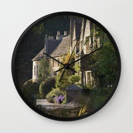Not the manor Wall Clock