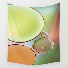 Oil On Water Edged With Gold Wall Tapestry