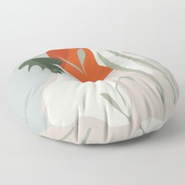 Abstract Shapes 16 Floor Pillow