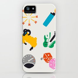 Aries Emoji iPhone Case