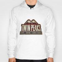 twin peaks Hoodies featuring Twin Peaks by Allelujah