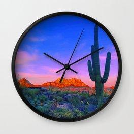 Meet Me In Phoenix Wall Clock