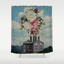 The Factory of Love Shower Curtain