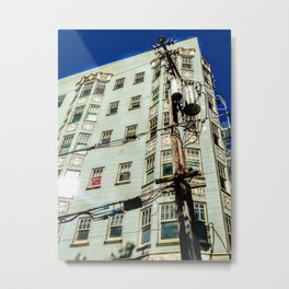San Francisco Apartments, 2019-Society6 Exclusive Metal Print
