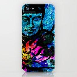Buddha Love No. 7 by Kathy Morton Stanion iPhone Case