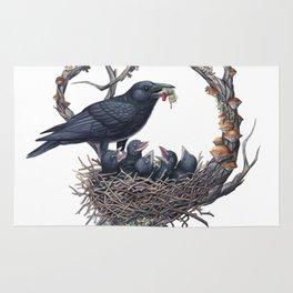 American Crow Rug