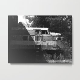 Full Moon Express Metal Print
