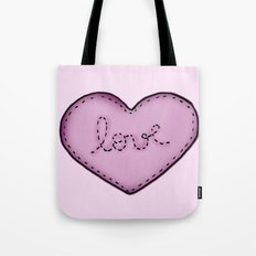 Love in your heart. Tote Bag