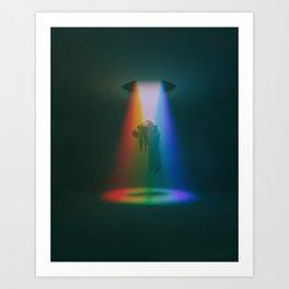 CRUSHED LIGHT (everyday 02.22.17) Art Print