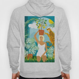 Bring the jungle home #illustration #painting Hoody