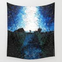 interstellar Wall Tapestries featuring Interstellar by LucioL