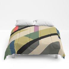 Modernist Dazzle Ship Camouflage Design Comforters