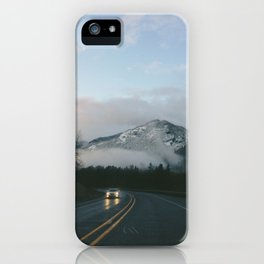 Evening Drives in the Columbia River Gorge iPhone Case