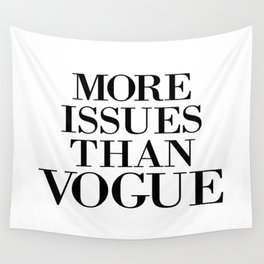 fashion quote, home decor Wall Tapestry