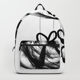 Black Ballerina Backpack