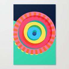 Layered Circles Canvas Print