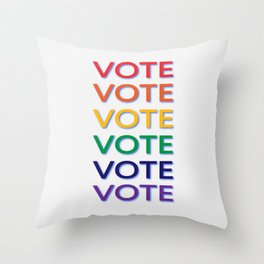 Suffrage Throw Pillow
