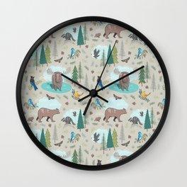Wild Adventures Wall Clock