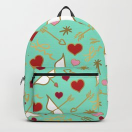 Cupid Love Aqua Mint Backpack