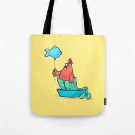 Pisces (Zodiac set) Tote Bag