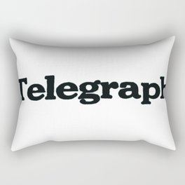 Telegraph Rectangular Pillow