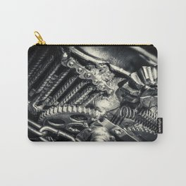 Machine Part BNW Abstract II Carry-All Pouch