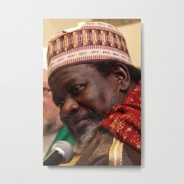 Imam Cisse Speech Metal Print