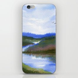 River iPhone Skin