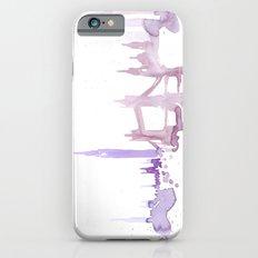 Watercolor landscape illustration_London iPhone 6s Slim Case