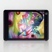 kandinsky iPad Cases featuring KANDINSKY - oil painting by Heaven7
