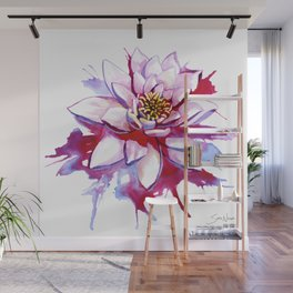 Bleeding Lotus Wall Mural