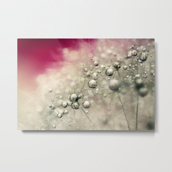 Cherry Dandy Drops Metal Print