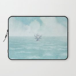 The Antlered Ship - Title Page Laptop Sleeve